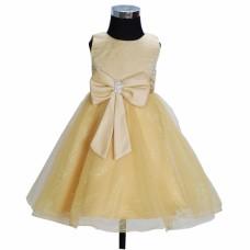 Svečana obleka KLX280 zlata  7-8 let na zalogi